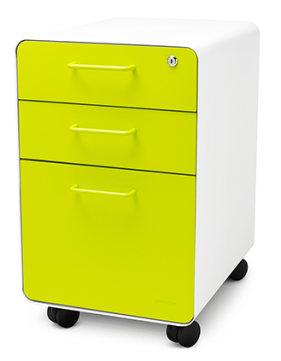 http://www.poppin.com/White-Yellow-West-18th-Rolling-File-Cabinet.html